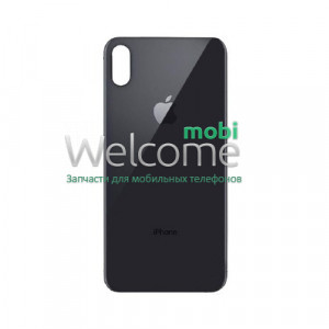 iPhoneXS Max back cover (glass) space gray