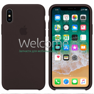 Silicone case for iPhone XR (34) cocoa